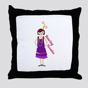 Roaring Twenties Throw Pillow